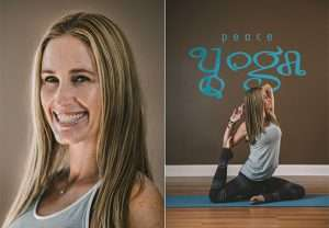 Peace Yoga Teacher Amy Boccia