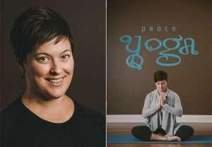 Peace Yoga Teacher Heather Gagnon