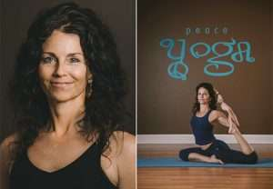 Peace Yoga Teacher Nancy Clough